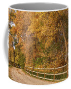 Autumn  Road To The Ranch Coffee Mug