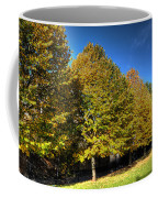 Autumn Row Coffee Mug