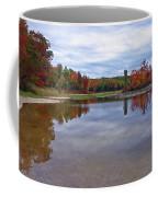Autumn Shoreline Coffee Mug