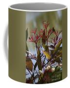 Autumn Snow Berry Bush Coffee Mug