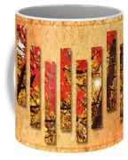 Autumn Sunrise Painterly Abstract Coffee Mug