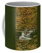 Autumn Surrounded In Color Coffee Mug