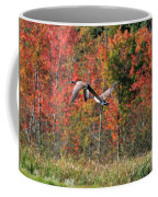 Autumn Vermont Geese And Color Coffee Mug
