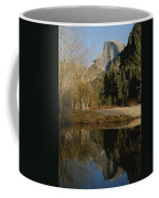 Autumn View Of The Park With Half Dome Coffee Mug