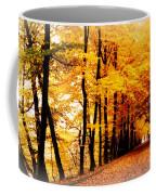 Autumn Walk In Belgium Coffee Mug