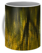 Autumn Water Reflection Abstract I Coffee Mug