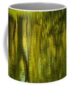 Autumn Water Reflection Abstract IIi Coffee Mug