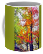 Autumnal Rainbow Coffee Mug