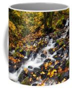 Autumn's Staircase Coffee Mug by Mike  Dawson
