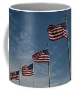 Avenue Of Flags Coffee Mug