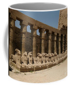 Avenue Of The Sphinx Coffee Mug