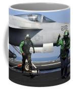 Aviation Boatswain Mates Signal A Clear Coffee Mug
