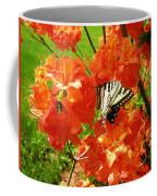 Azalea And Butterfly 1 Coffee Mug