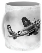 B25 In Flight Coffee Mug by Greg Fortier