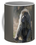 Baboon With Headache Coffee Mug