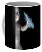 Baby Doll With Feather Coffee Mug