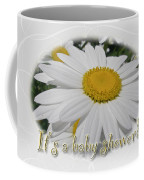 Baby Shower Invitation - Ox Eye Daisy Coffee Mug