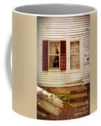 Back Door Of Old Farmhouse Coffee Mug
