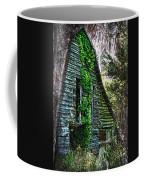 Back To Nature - Crumbling Barn Coffee Mug