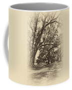 Back To The Future Antique Sepia Coffee Mug