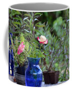 Back Yard Roses Coffee Mug