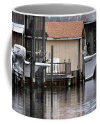 Backyard Waterway Coffee Mug