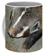 Badger On The Loose Coffee Mug