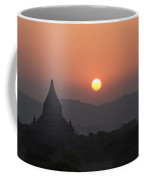 Bagan Temples At Sunset II Coffee Mug