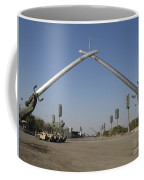 Baghdad, Iraq - Hands Of Victory Coffee Mug by Terry Moore
