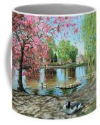 Bakewell Bridge - Derbyshire Coffee Mug by Trevor Neal