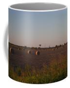Bales In Peanut Field 1 Coffee Mug