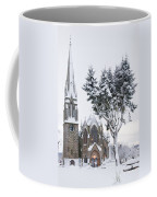 Ballater Church In Snow Coffee Mug