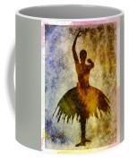 Ballerina 1 With Border Coffee Mug