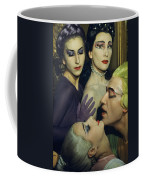 Ballet Dancers Appear In A Love Scene Coffee Mug by Justin Locke