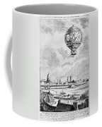 Balloon Flight, 1783 Coffee Mug