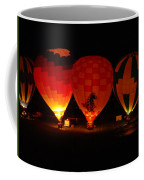 Balloons At Night Coffee Mug