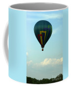Balloons In Blue Skies  Coffee Mug