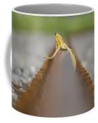 Banana Peel On The Railroad Tracks Coffee Mug