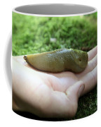 Banana Slug On Hand Coffee Mug