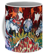 Band Of Horses Coffee Mug by Carol Law Conklin