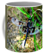 Banded Pennant Dragonfly Coffee Mug