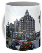 Banff Springs Hotel In The Canadian Rocky Mountains Coffee Mug