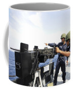 Bangladesh Navy Sailors Fire Coffee Mug
