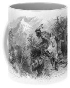 Banknote: Native American Attack Coffee Mug