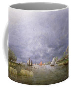 Banks Of The Loire In Spring Coffee Mug