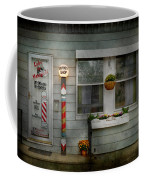 Barber - Belvidere Nj - A Family Salon Coffee Mug by Mike Savad
