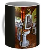 Barber - Barber Chair Coffee Mug by Paul Ward