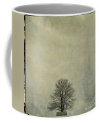 Bare Tree. Vintage-look. Auvergne. France Coffee Mug