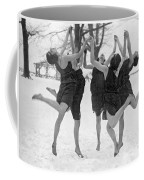 Barefoot Dance In The Snow Coffee Mug