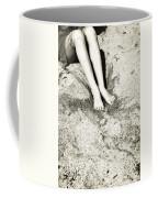 Barefoot In The Sand Coffee Mug by Joana Kruse